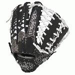 Louisville Slugger HD9 12.75 inch Baseball Glove White, Left Hand Throw