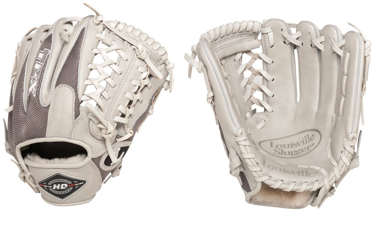 louisville-slugger-hybrid-defense-grey-baseball-glove-11-5-right-hand-throw XH1150SS-LeftHandThrow Louisville 044277981228 Same zero-gravity performance mesh as used by many professional players Five