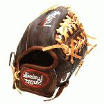 Louisville Slugger IC1150 Icon Series 11.5 Baseball Glove (Right Handed Throw) : Handcrafted from American steer hide. Extra-wide laces for ultimate durability. Perforated palm lining provides enhanced feel. Top professional patterns.