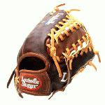 Louisville Slugger IC1275 Icon Series 12.75 Baseball Glove (Right Handed Throw) : Handcrafted from American steer hide. Extra-wide laces for ultimate durability. Perforated palm lining provides enhanced feel. Top professional patterns.