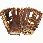 The Omaha Pure series brings premium performance and feel with ShutOut leather and professional patterns. The all-new series features the innovative ClipEdge Design for additional stabilization of the thumb and pinky while offering a unique look. Features Premium grade ShutOut leather shell. Unique Clip-Edge design for reinforced thumb and pinky. Hand stretched leather enhancements. Full grain leather palm lining with premium lacing. Professional pattern.