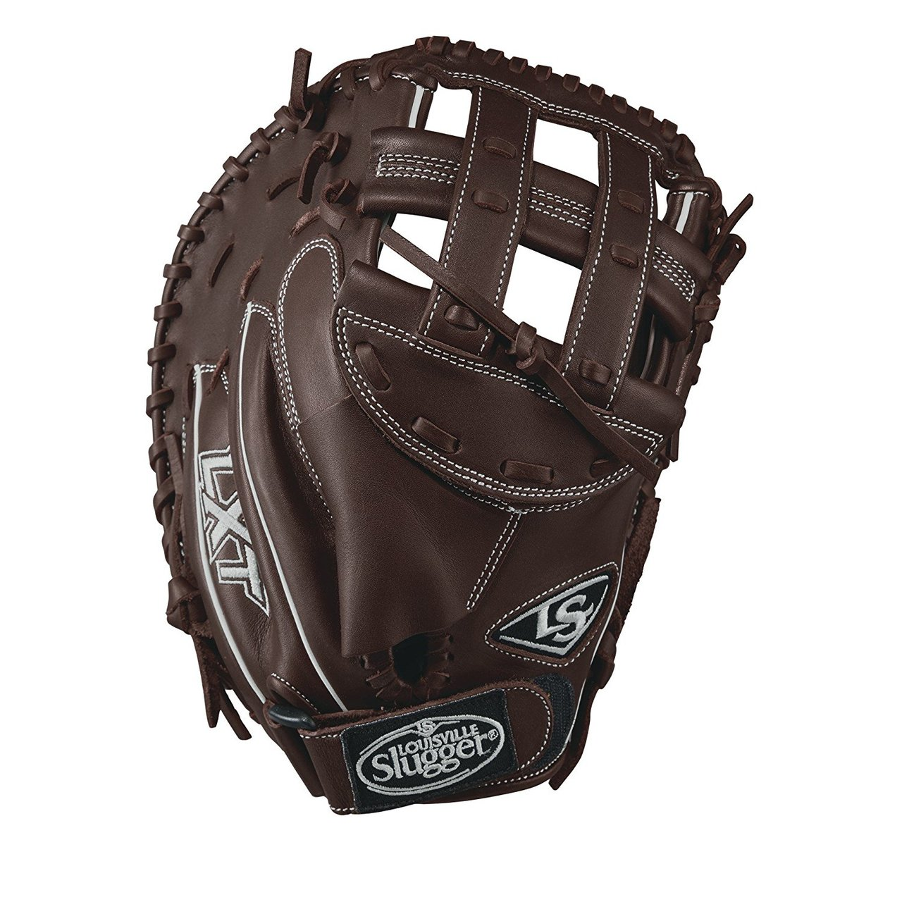 louisville-slugger-lxt-catchers-mitt-right-hand-throw-33 WTLLXRF17CM-RightHandThrow Louisville 887768498177 Used by the top players the LXT has established itself as