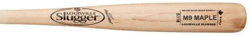louisville-slugger-m9-maple-wood-baseball-bat-s318-32-inch WBM914-18CNA-32 Inch Louisville Slugger 044277005658 Louisville Slugger M9 Maple Wood Baseball Bat
