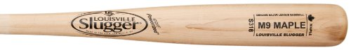 louisville-slugger-m9-maple-wood-baseball-bat-s318-33-inch WBM914-18CNA-33 Inch Louisville 044277003739 Louisville Slugger M9 Maple Wood Baseball Bat S318 33 Inch