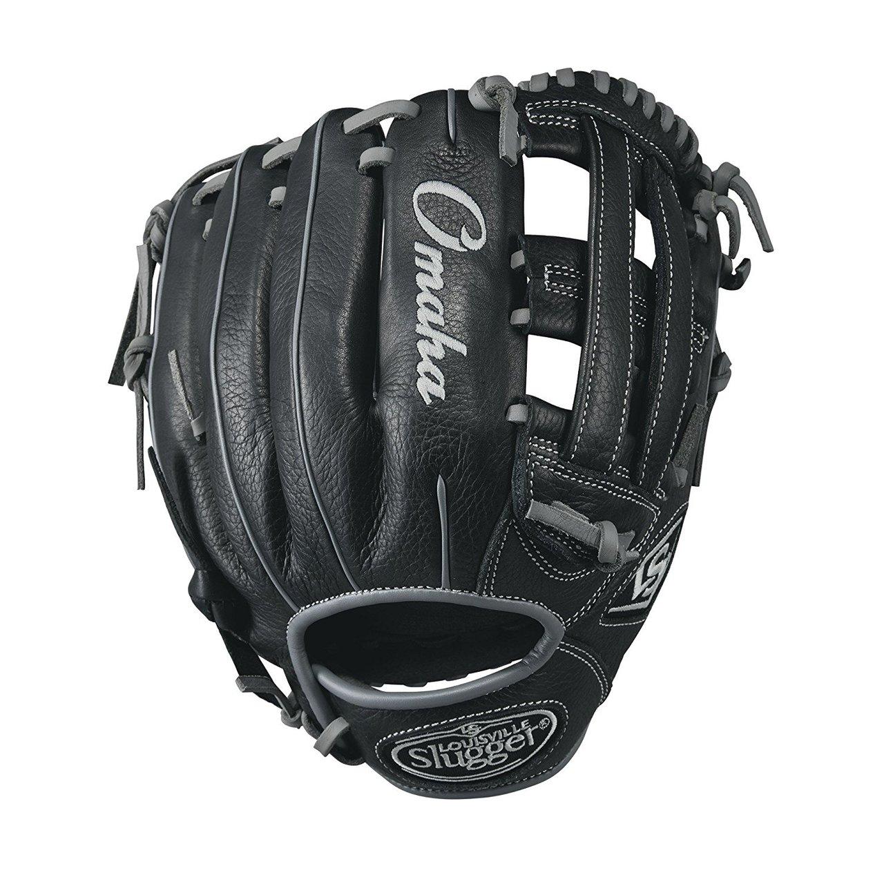 louisville-slugger-omaha-11-5-inch-wtlomrb17115-baseball-glove-right-hand-throw LOMRB17115-RightHandThrow Louisville 887768498542 11.5 infield WTLOMRB17115 Dual post web pattern Soft full-grain Steerhide leather