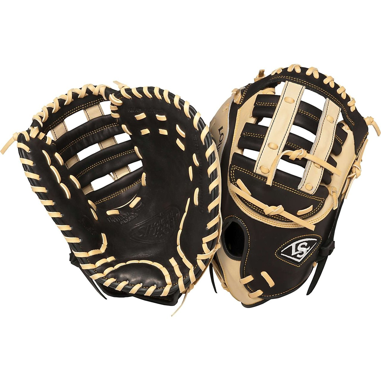 louisville-slugger-omaha-flare-13-inch-first-base-mitt-right-handed-throw FGOF14-BKFBM-Right Handed Throw Louisville 044277007126 The Louisville Slugger Omaha Flare series baseball glove combines Louisville Slugger\x