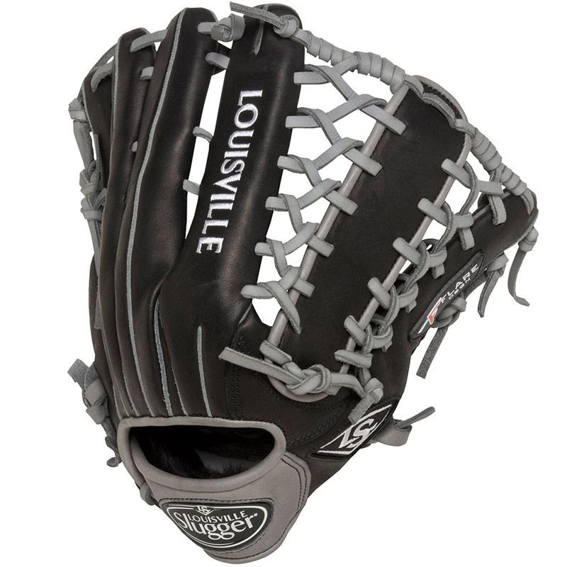 louisville-slugger-omaha-flare-baseball-glove-black-12-75-right-hand-throw FGOFBK6-1275-RightHandThrow Louisville B016GNMAMK