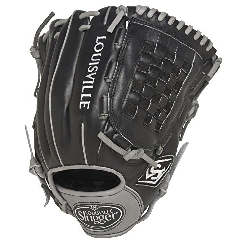 louisville-slugger-omaha-flare-black-12-in-baseball-glove-no-tags-right-hand-throw FGOFBK5-1200-NOTAG Louisville  No String Tags Markdown Price.