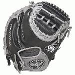 Lousville Slugger Omaha Flare combines iconic flare design and professional patterns with game ready performance leather.  Quick ball transfer and quick inning. 33.5 Circumference. Open Back. 2 Piece Web.