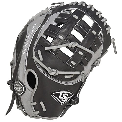 louisville-slugger-omaha-flare-black-first-base-mitt-no-tag-right-hand-throw FGOFBK5-FBM1-NOTAG Louisville  No String Tags Markdown Price.