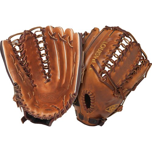 The Louisville Slugger Omaha Pro series brings together premium shell leather with softer linings for a substantial feel that is game-ready off the shelf. The unique, vintage leather gives each glove a personality of its own.