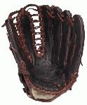 Louisville Slugger Omaha Pro Ball Glove Brown, 12.75 Inch Left Handed Throw