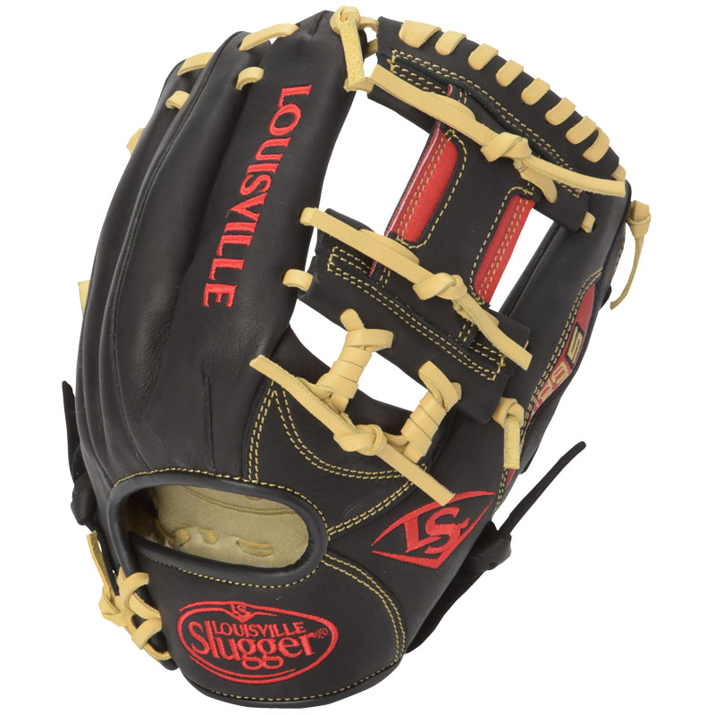 louisville-slugger-omaha-s5-baseball-glove-black-scarlet-11-25-right-hand-throw FGS5SR6-1125-RightHandThrow Louisville B0165AU3ZK The Omaha Series 5 delivers standout performance in an all new