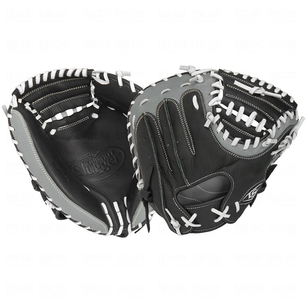 louisville-slugger-omaha-select-31-inch-catchers-mitt-right-handed-throw FGOS14-BGCM1-Right Handed Throw Louisville 044277007386 Louisville Slugger Omaha Select for the player not ready for adult