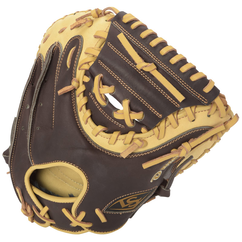 louisville-slugger-omaha-select-brown-catchers-mitt-right-hand-throw FGOSBN6-CTM1-RightHandThrow Louisville B0158ZBNQQ