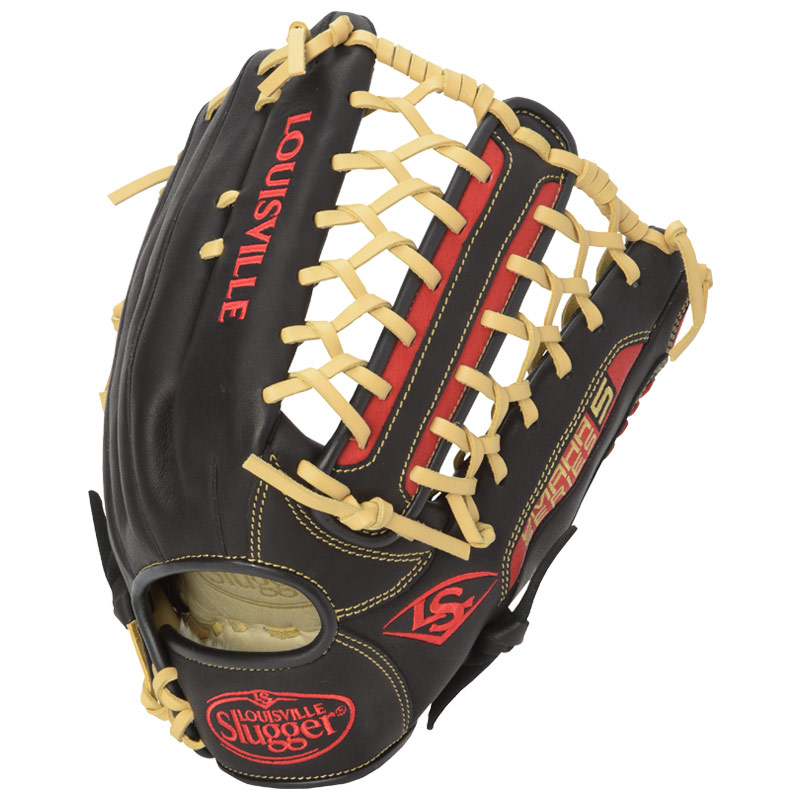 louisville-slugger-omaha-series-5-baseball-glove-12-75-right-hand-throw FGS5SR6-1275-Right Handed Throw Louisville B0165AZL7K The Omaha Series 5 delivers standout performance in an all new