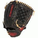 The Omaha Series 5 delivers standout performance in an all new line of Louisville Slugger Baseball Gloves. The series is built with premium Cambio leather in a full range of professional patterns, perfect for players moving up into the higher levels of baseball. Omaha Series 5 12 Ball Glove Features Premium Grade Cambio leather shell. Unique Edge-Lace design for additional stability. Full grain leather palm lining. Premium lacing. 12 OutfieldInfieldPitcher pattern. Open Back. Checkmate Web. One Year Manufacturer's Warranty.