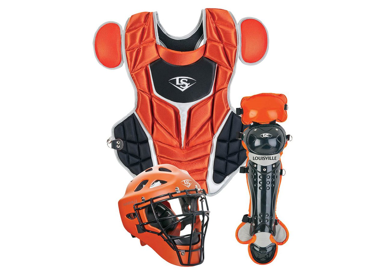 louisville-slugger-pgfpis6-burnt-orange-series-7-fastpitch-intermediate-catchers-set PGFPIS6-TO Louisville B0165B9S96 Louisville Slugger's Fastpitch Catcher's Gear was developed using on-field insights collected