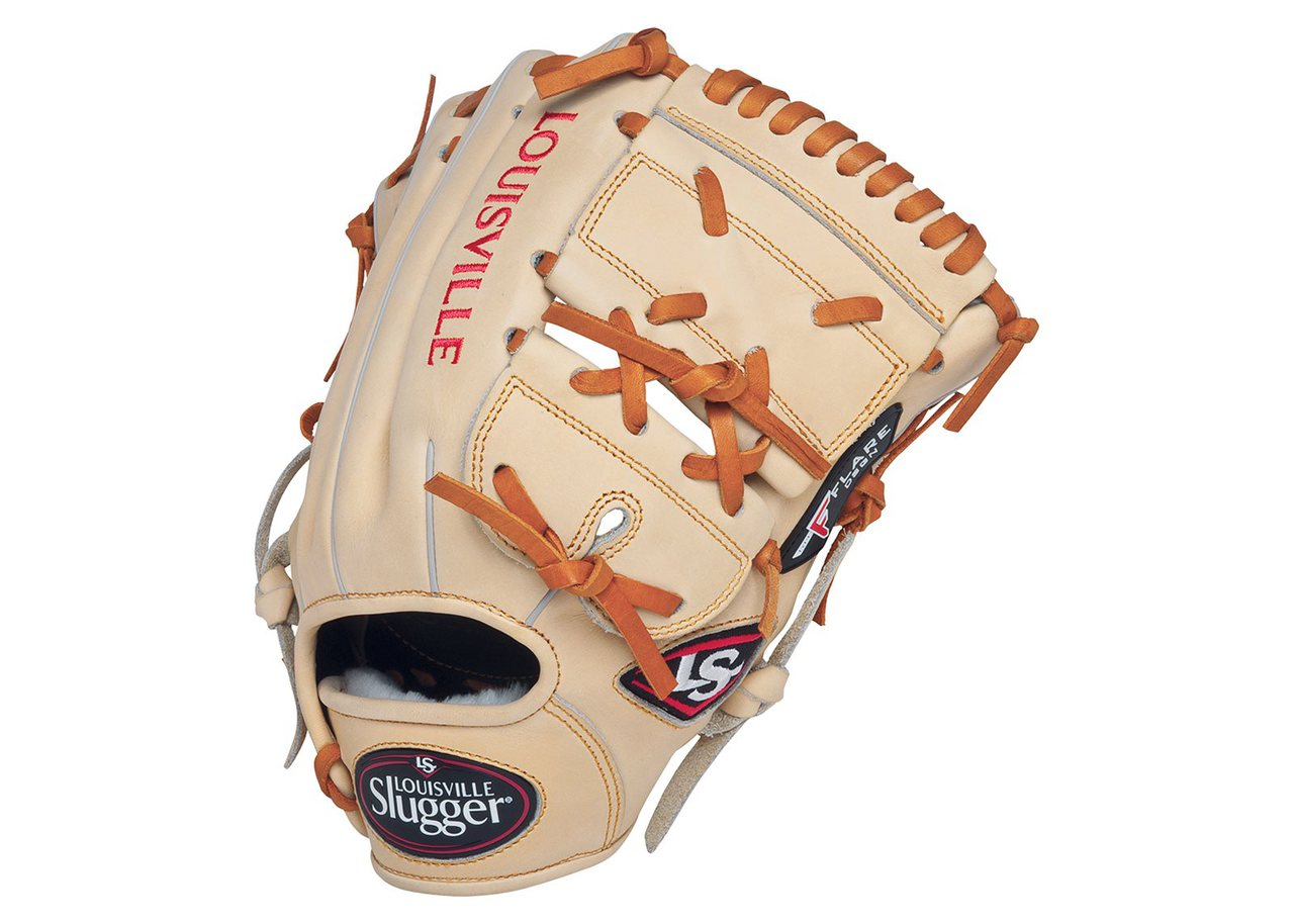 louisville-slugger-pro-flare-11-5-closed-web-baseball-glove-right-hand-throw FGPF14-CCR115  044277051907 Designed with the speed of the game in mind. Louisville Slugger