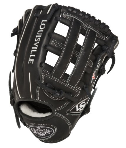 louisville-slugger-pro-flare-11-75-h-web-baseball-glove-right-handed-throw FGPF14-BK117-Right Handed Throw Louisville Slugger 044277006648 Louisville Slugger Pro Flare 11.75 H Web Baseball Glove Right Handed