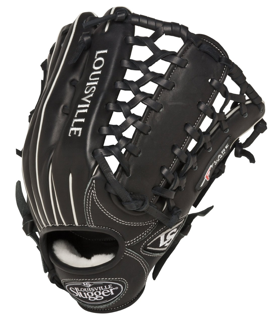 louisville-slugger-pro-flare-13-inch-outfield-baseball-glove-right-handed-throw FGPF14-BK130-Right Handed Throw Louisville New Louisville Slugger Pro Flare 13 inch Outfield Baseball Glove Right Handed