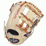 Louisville Slugger Pro Flare Cream 11.5 inch Baseball Glove Right Handed Throw