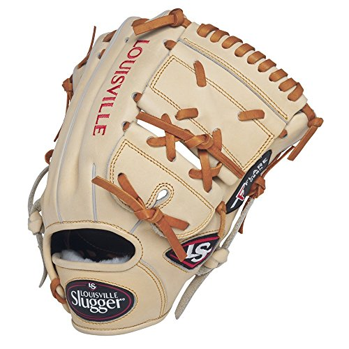 louisville-slugger-pro-flare-cream-11-75-2-piece-web-baseball-glove-right-handed-throw FGPF14-CR1176-Right Handed Throw Louisville Slugger 044277051884 Louisville Slugger Pro Flare Cream 11.75 2-piece Web Baseball Glove Right