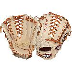 Louisville Slugger Pro Flare Cream 13 inch Outfield Baseball Glove Left Handed Throw