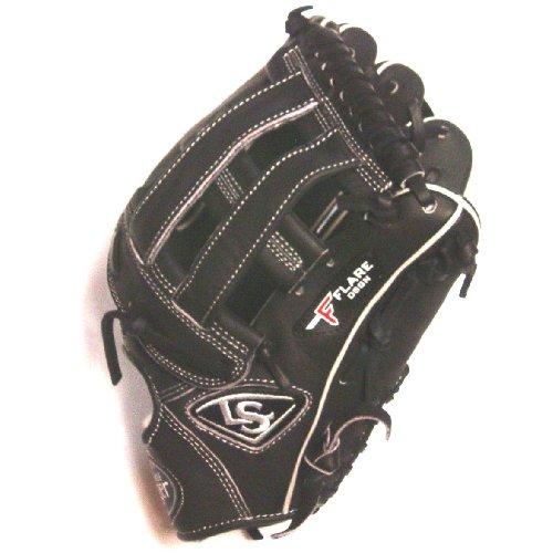 louisville-slugger-pro-flare-fgpf14-cbk125-baseball-glove-right-handed-throw FGPF14-CBK125-Right Handed Throw Louisville 044277019495 Louisville Slugger Pro Flare Outfield Baseball Glove. Professional-grade oil-infused leather Combines
