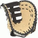 Designed with the speed of the game in mind. Louisville Slugger builds their fielding gloves like they build their bats with classic design and cutting-edge technology. The Pro Flare Series combines Louisville Slugger s iconic Flare design and big league patterns with professional-grade leather. The flare technology has up to 15 wider fielding surface vs. a traditional pattern giving you just the edge you need to take your game to the next level. Pro Flare 1st Base Mitt Features Professional-Grade Oil-Infused Leather Extra Wide Lacing Curved Finger Tips 13 First Base Pattern Closed Back Single Post Double Bar Web One Year Manufacturer s Warranty