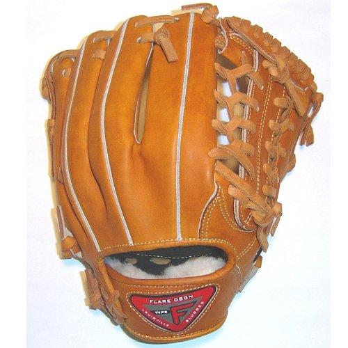 louisville-slugger-pro-flare-fl1151c55-11-1-2-inch-horween-baseball-glove FL1151C55 Louisville  Louisville Slugger 11.5 Modified Trap Open Back Pro Flare Series Baseball