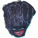 Louisville Slugger Black Mesh Back 11.75 Pro Flare Series Dual Hinge Web Baseball Glove Exclusive
