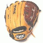 Louisville Slugger TPX Pro Series 11.75 Inch Baseball Glove. Maruhashi Japanese tanned Leather for superior feel and durability. Oil treated for quicker break in and softer feel. Same position specific glove patterns as worn by Louisville Suggers stable of Major Leaguers. Dye Through lacing for increased durability. nearly 20% of all major League pitchers use TPX Gloves. Since 1884 when John A Hillerich hand turned a white ash bat for Pete The Gladiator Browning, the finest hitter of his day, the name Louisville Slugger has been synonymous with the games greatest hitters. Their focus remains much the same today as when the company began. Devoted to making performance equipment that meets the standards of the games best players as well as those who simply love to play the game.