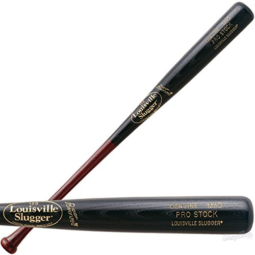 Louisville Slugger Pro Stock PSM110H Hornsby Wood Baseball Bat (33 Inches) : Pro Stock Ash with 1 Inch handle and medium barrel Long Taper with balck hornsby finish.