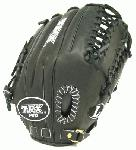 Louisville Slugger Pro Series 12.75 Inch Outfield Baseball Glove. Louisville Slugger TPX PRO11CB Outfiled Glove. 12.75 inch outfield pattern. Closed back with strap. Improved deeper pocket. Maruhashi Japanese tanned leather for superior feel and durability. Oil treated for quicker break in and softer feel. Dye through lacing for durability.