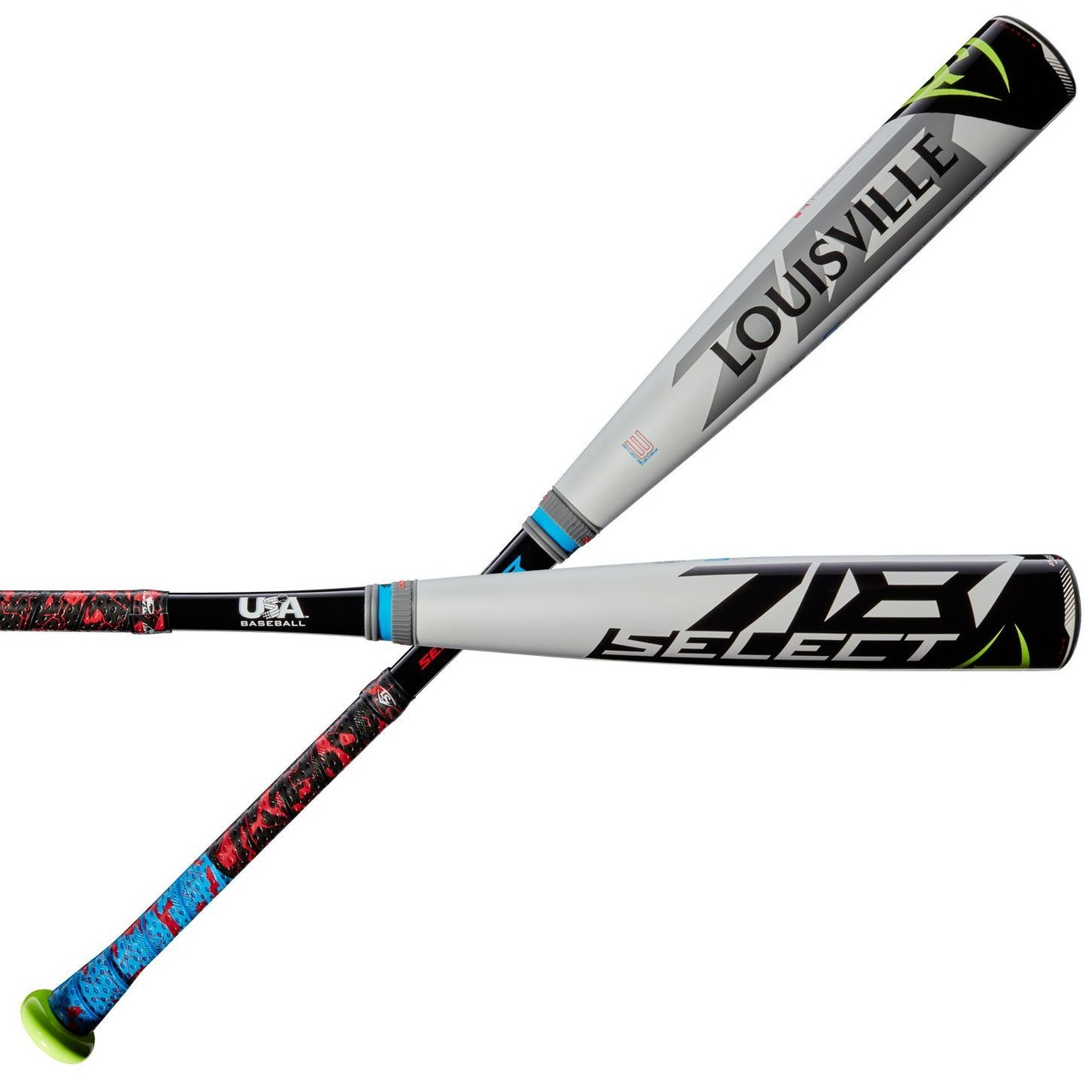 louisville-slugger-select-718-usa-5-wtlubs718b5-youth-baseball-bat-30-inch-25-oz WTLUBS718B530 Louisville 887768677909 5 length to weight ratio Hybrid construction with ST 7U1+ alloy