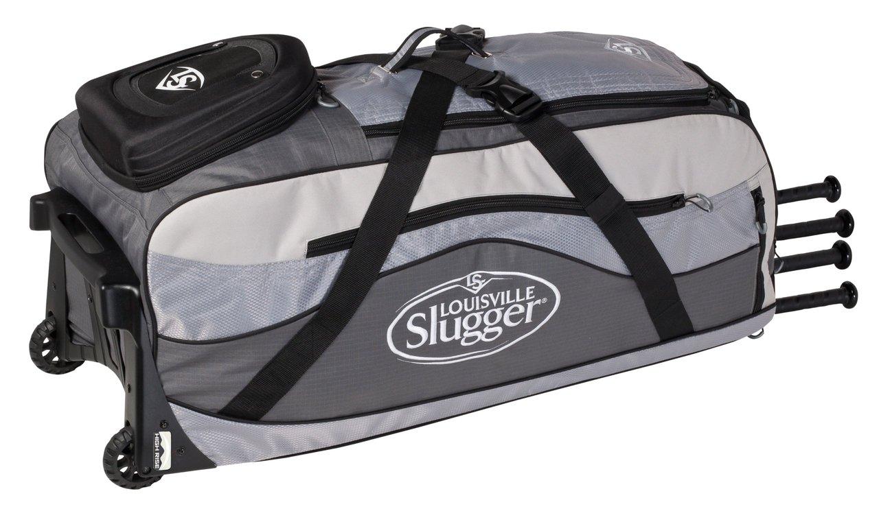 louisville-slugger-series-9-ton-team-equipment-bag-ebs914-tn EBS914-TN Louisville 044277012816 The Louisville Slugger Series 9 Ton Team wheeled bag features High