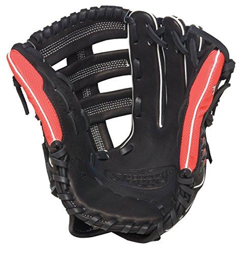 louisville-slugger-super-z-black-12-75-inch-slow-pitch-softball-glove-right-handed-throw FGSZBK5-1275-Right Handed Throw Louisville New Louisville Slugger Super Z Black 12.75 inch Slow Pitch Softball Glove