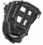 Louisville Slugger Super Z Black 13.5 inch Slow Pitch Softball Glove (Right Hand Throw) : The Super Z Series is the first of its kind in Slow Pitch. The unique Flare technology has up to 15% wider fielding surface vs. a traditional pattern allowing for quick-transfer of the ball from glove to hand, because every split second counts.