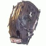 Louisville Slugger Valkyrie V1250B 12 12 Inch Fastpitch Softball Glove : TPS Fast pitch Black Valkyrie Softball Glove 12.5 Closed Web Closed Back Velcro Closure. A glove line designed for mid to high levels of fastpitch play.