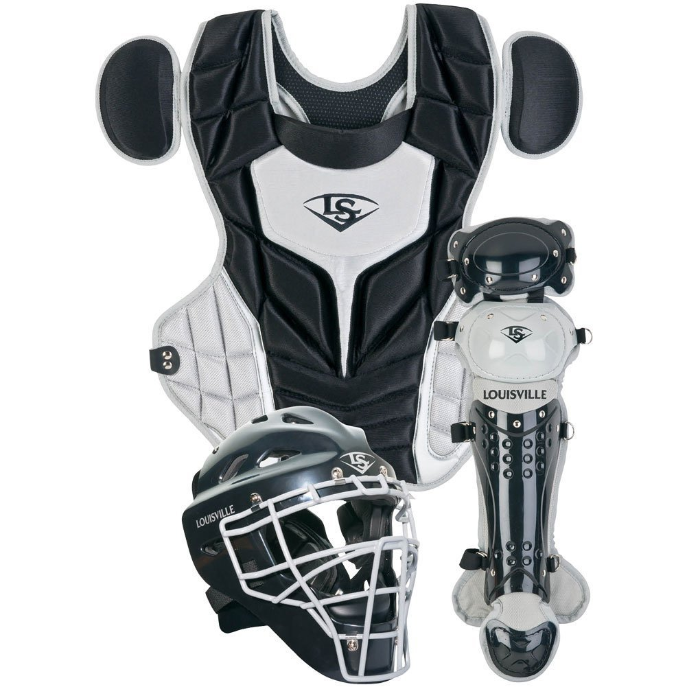louisville-slugger-womens-intermediate-series-5-fastpitch-catchers-set-black PGFPIS6-BG Louisville 044277135300