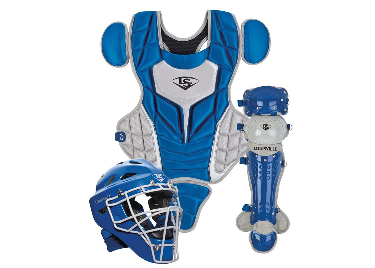 louisville-slugger-womens-intermediate-series-5-fastpitch-catchers-set-royal-grey PGFPIS6-RG Louisville 044277135287 Made from extra-tough lightweight materials that keep you protected while easily