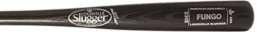 louisville-slugger-wood-fungo-bat-s345-black-36-inch WBFN345-BK36 Louisville 044277054960 Louisville Slugger Wood 345 Turning Model Fungo Bat. 36 inch Black