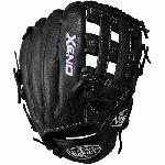 When top-of-the-line leather meets a soft lining a game-ready glove like no other is born. The Xeno is stylish and provides a sure feel desgined specifically for the female player. 12.5 Pitcher Dual Post Web Soft Pigskin Wrist Lining