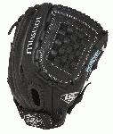 Louisville Slugger Xeno Fastpitch Softball Glove 12 inch FGXN14-BK120 (Right Handed Throw) : The Louisville Slugger Xeno Fastpitch series softball glove takes best-in-class premium leather matched with soft linings for a substantial feel that is game-ready off the shelf. Make the game more Beautifully Powerful. This glove features Genuine Cowhide Leather Soft Lining. 12 inch InfieldOutfield Fastpitch Pattern Closed back with Velcro Strap with Checkmate Web
