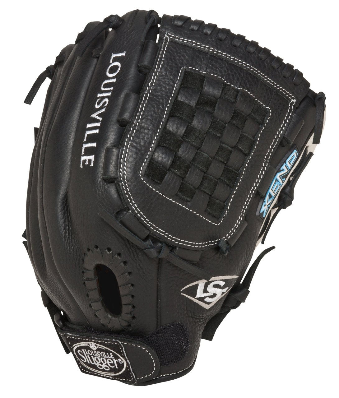 louisville-slugger-xeno-fastpitch-softball-glove-12-inch-fgxn14-bk120-right-handed-throw FGXN14-BK120-Right Handed Throw Louisville Slugger New Louisville Slugger Xeno Fastpitch Softball Glove 12 inch FGXN14-BK120 Right Handed