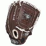 Louisville Slugger Xeno Pro Brown 12 in Softball Glove Right Handed Throw