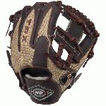 Louisville Slugger 11.25 HD9 Hybrid Defense Kastanie/Gold Baseball Glove