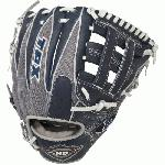 Louisville XH1175NGRH 11 3/4 Inch Baseball Glove (Left Hand Throw) : Louisville Slugger LEFT HAND THROW 11.75 HD9 Hybrid Defense Navy/Gray Baseball Glove