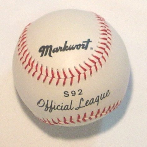 markwort-s92-official-league-baseball-1-each S92  New Markwort S92 Official League Baseball 1 each  Markwort Official Baseball